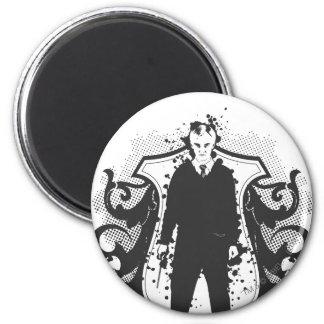 Draco Malfoy Dark Arts Design 6 Cm Round Magnet