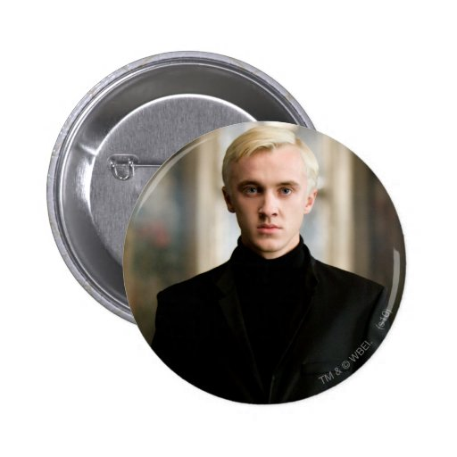 Draco Malfoy Straight On 6 Cm Round Badge