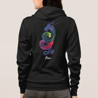 Draco Rainbow Nebula Hoodie