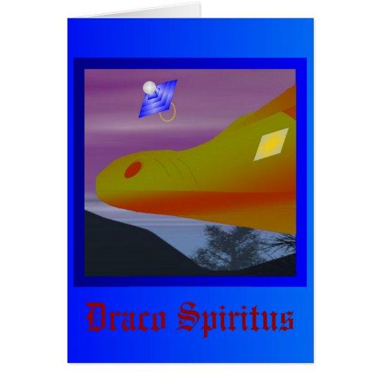 Draco Spiritus - Card