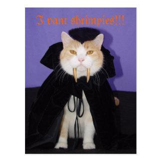 Dracula Bubba Postcard