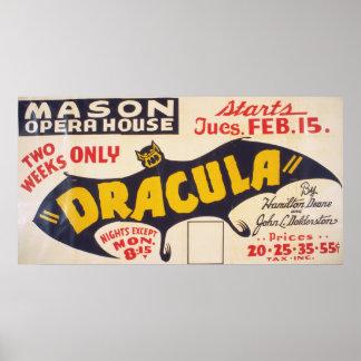 Dracula by Hamilton Deane Poster