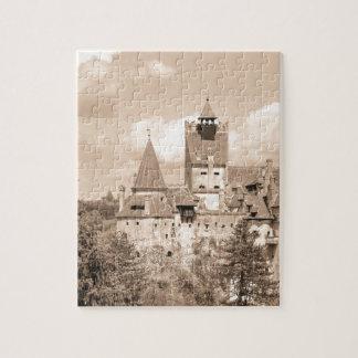 Dracula Castle in Transylvania, Romania Jigsaw Puzzle