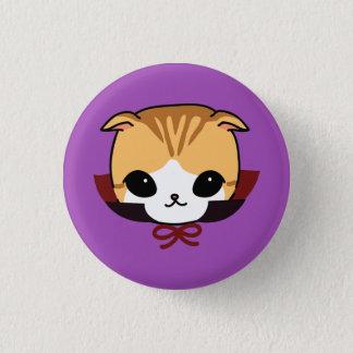 dracula cat  halloween button