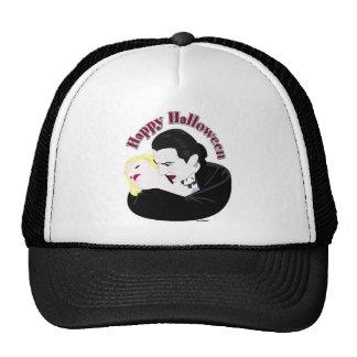 Dracula Happy Halloween Mesh Hats
