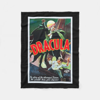 Dracula Monster Movie Blanket