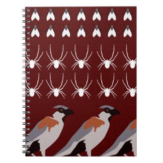 Dracula print spiral notebook