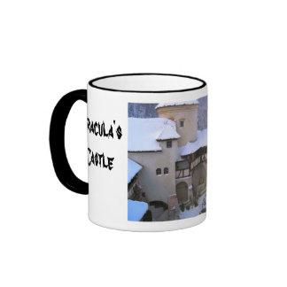 Dracula's castle, Bran, Transylvannia 3 Coffee Mugs