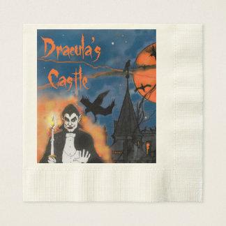 Dracula's Castle Halloween party napkins Disposable Serviettes
