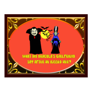 Dracula's Girlfriend Postcard