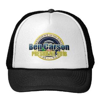 Draft Benjamin Carson for President Cap