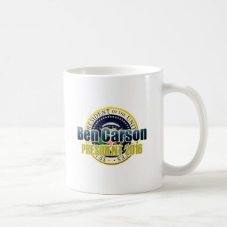 Draft Benjamin Carson for President Coffee Mug