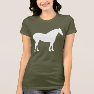 Draft Horse (white) T-Shirt