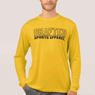 Drafted Sports Apparel Men's Long Sleeve (Gold) T-Shirt
