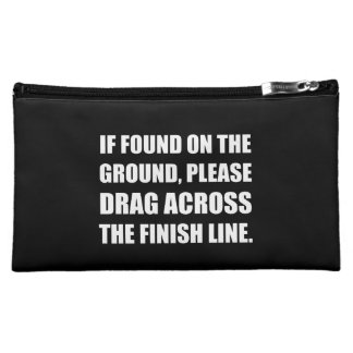 Drag Across Finish Line Cosmetic Bag