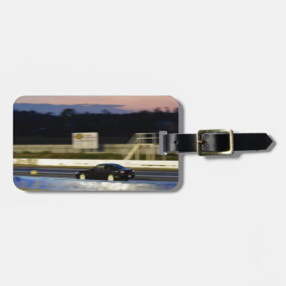 DRAG CAR RACING AUSTRALIA NISSAN SILVIA LUGGAGE TAG