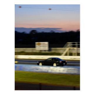 DRAG CAR RACING AUSTRALIA NISSAN SILVIA POSTCARD