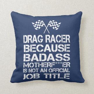 Drag Racer Cushion