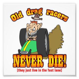 Drag Racers Photo Art