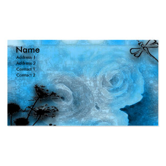 dragfly blues business card template