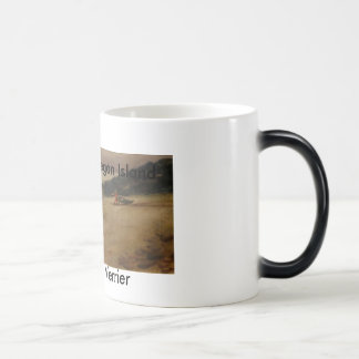 dragging_boat-edited, by Priscille Verrier, Fis... Magic Mug