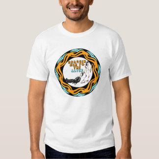Dragging Him To Wedding Alter T-shirt