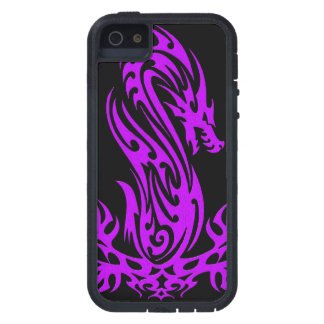 Dragon 19 purple oil case for the iPhone 5