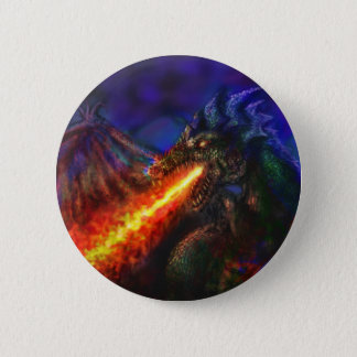 Dragon #1 6 cm round badge