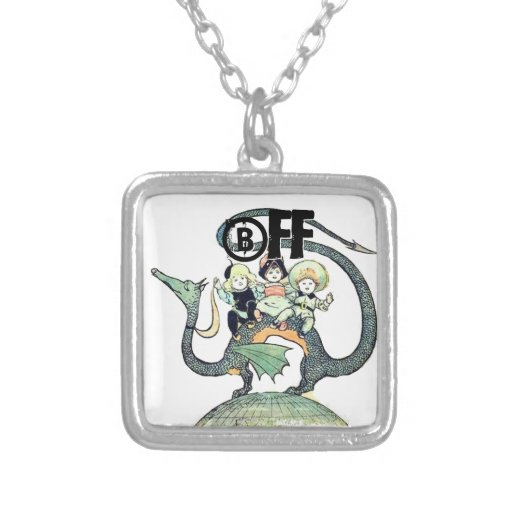 Dragon 3 Bold Babes Personalized Necklace
