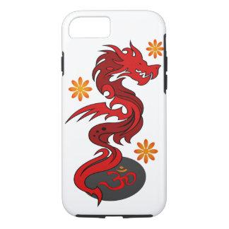 Dragon 58 Om flowers iPhone 7 Case