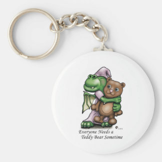 Dragon and Bear Color Mug Key Ring