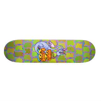 Dragon and Birthday Cake Skateboard Deck
