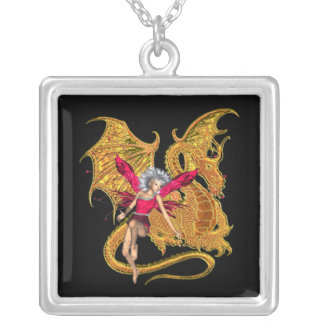 DRAGON AND FRIEND necklace