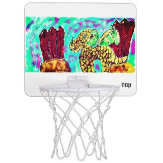 Dragon and Garnet Mini Basketball Hoop