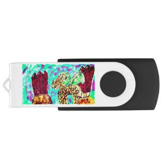Dragon and Garnet USB Flash Drive