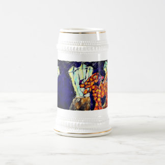 Dragon and opal beer stein