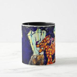 Dragon and opal mug