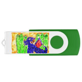 Dragon and Peridot USB Flash Drive