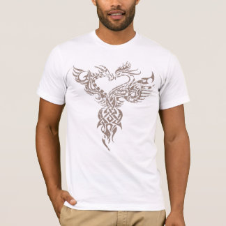 Dragon and Pheonix Face Off T-Shirt