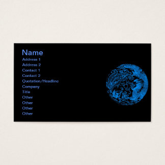 Dragon and Phoenix Business Card