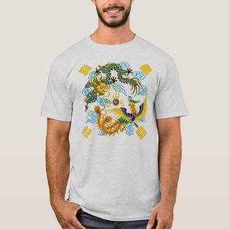 Dragon and phoenix Chinese art T-Shirt