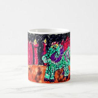 Dragon and Ruby Magic Mug