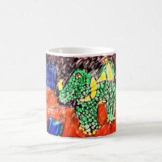 Dragon and Sapphire two Magic Mug