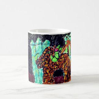 Dragon and Turquoise Magic Mug