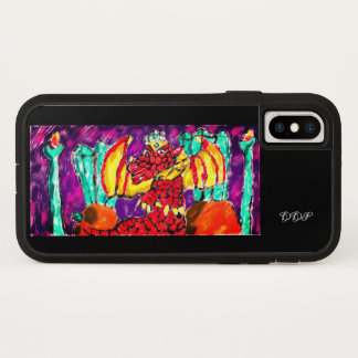 Dragon Aquamarine iPhone X Case