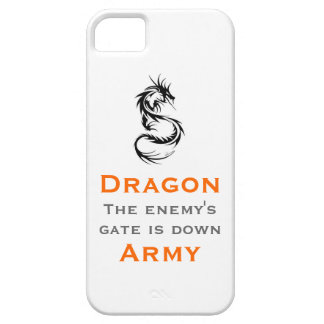 Dragon Army / Ender's Mantra Case For The iPhone 5