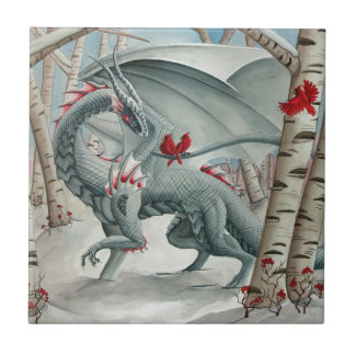 Dragon art, Fantasy art, Lady of the Forest Tile
