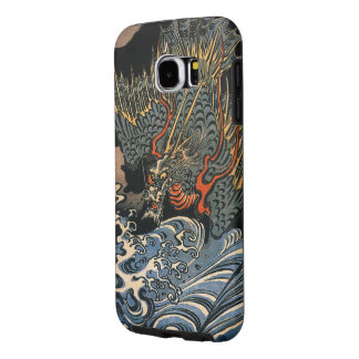 Dragon at Sea Samsung Galaxy S6 Cases