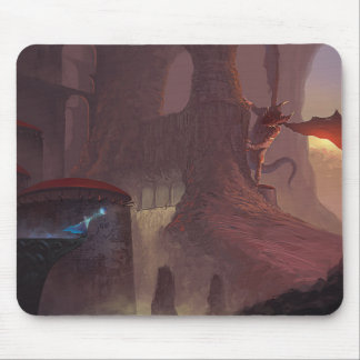 Dragon attack mouse pad