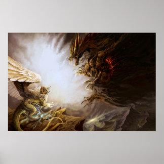 Dragon Battle Poster